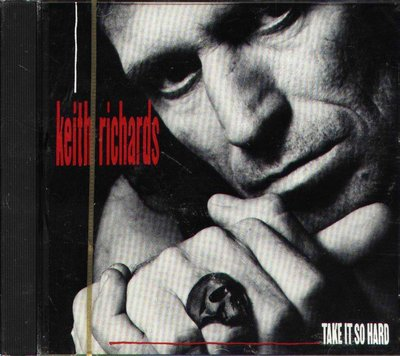 K - Keith Richards - Take It So Hard - CD 1988 - NEW