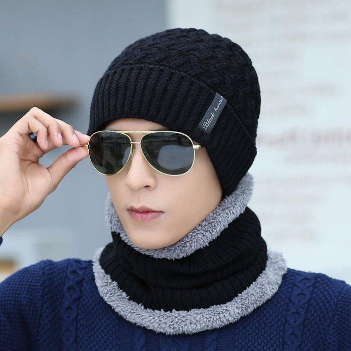【每日一特價】針織帽加厚保暖帽子男士冬季冬天護耳包頭帽針織帽韓版潮毛線帽男百搭