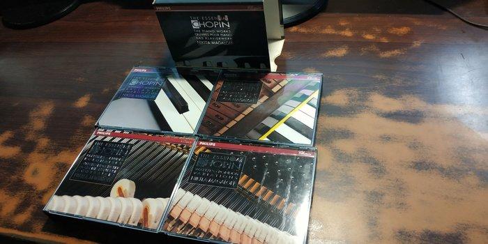 好音悅 半銀圈 Magaloff 馬加洛夫 Chopin 蕭邦 鋼琴獨奏作品 13CD Philips 德PMDC01版