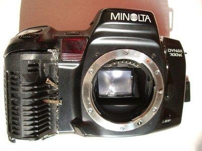 故障的Minolta DYNAX 700si AF底片相機 但電子日期機背是好的