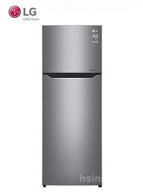 *~新家電錧~*【LG樂金 GN-L307SV】253公升 Smart 直驅變頻上下門冰箱 星辰銀