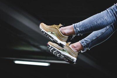 NIKE AIR MAX 97 OG QS 金 氣墊 慢跑鞋 女鞋 885691-700