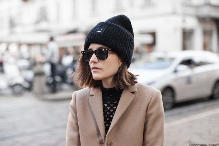 【代購】ACNE STUDIOS  Face 羊毛針織帽 Chiara
