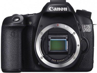 【Aaron 3C專賣店】全新Canon EOS 70D BODY 單機身 平輸繁中 保固2年 另有5d3 700d 台北市