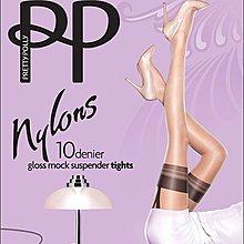 °☆就要襪☆°全新英國品牌 PRETTY POLLY MOCK SUSPENDER 仿吊帶造型超薄絲襪