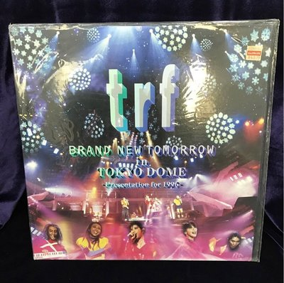 🎄trf BRAND NEW TOMORROW in TOKYO DOME 專輯 LASER DISC (日本版)🎋