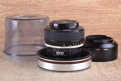 【台中品光攝影】 美品 NIKON Noct-Nikkor 58mm F1.2手工打磨非球面鏡片 夜之眼 #35365J