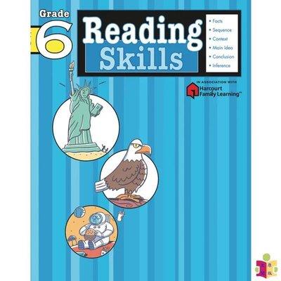 [文閲原版]Flash Kids 閱讀技巧6年級 英文版 Reading Skills Grade6英語學習輔助 小學家