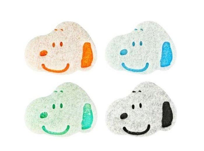 Snoopy大判菜瓜布4入