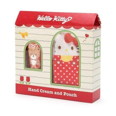 萌貓小店 日本直送- 日本Hello kitty 護手霜連小包ハローキティ プチポーチ付きハンドクリーム