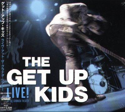 K - Get Up Kids - Live @ The Granada Theater - 日版 - NEW
