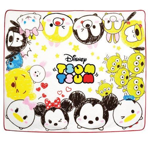 41+現貨不必等 挑戰Y拍最低價 迪士尼 主角明星 奇蒂 TSUM TSUM 毛毯 180X150CM 日本平行輸入