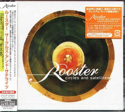 K - Rooster - Circles And Satellites - 日版 +1BONUS - NEW