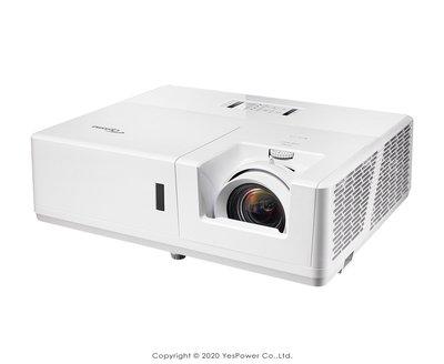 *來電享優惠價*ZU606T Optoma 6000流明 輕巧型高亮度工程及商用投影機 1920x1200解析/悅適影音