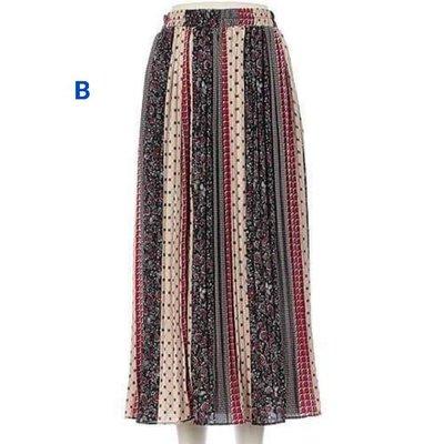 雪紡多層拼接裙 各角度都令人耳目一新不易皺 透氣舒服 單一尺寸 鬆緊帶設計所以M-L都可穿喔~ 美麗佳人必備 三款可選