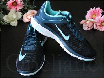 NIKE FS LITE RUNNING 4 耐吉 輕盈舒適透氣 馬拉松 女慢跑鞋 運動鞋  7.5 號