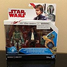 星球大戰 Star Wars force link Han Solo boba fett