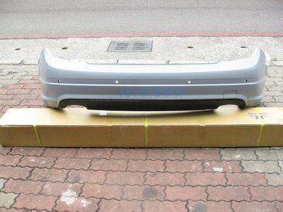 ~~ADT.車燈.車材~~BENZ W204 改款前 07 08 09 10  原廠型後保桿含下巴 PP材質