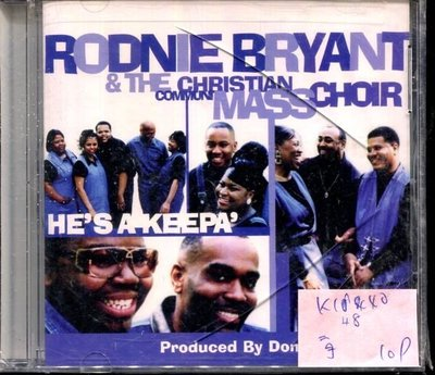 *真音樂* RODNIE BRYANT & THE CHRISTIAN COMMUN MASS CHOIR 二手 K14840