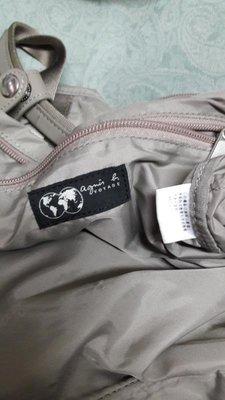 """正品""""agnes b.""""休閒背包---輕便,堅固耐用的休閒包~"""