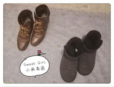 Sweet Girl小米商店✪靴子23.5號(二手)促銷價(咖啡色已售出)