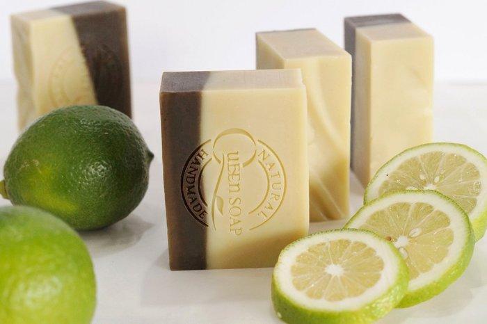 女王天然手工皂「青檸薄荷-夏日清涼皂」  手工香皂  手工肥皂