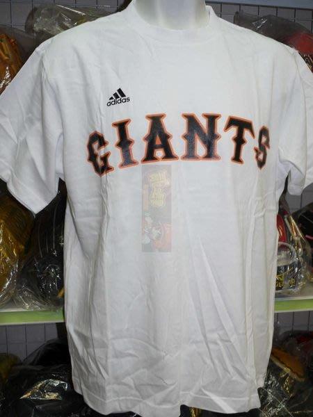 貳拾肆棒球--日本帶回~日職棒巨人阿部慎之助比賽球員球衣造型TEE/adidas製/XL