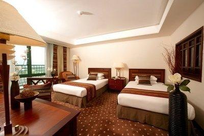 台東 娜路彎大酒店~豪華雙人房(一大床或兩小床)含兩早餐+迎賓水果+三溫暖/水療/泳池設施+接送。假日+1000。可代訂