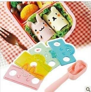 日本小動物飯捲模具 飯團 手捲壽司模具 小熊 海豹 小兔 小鴨 廚房DIY 親子DIY