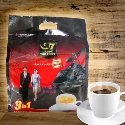 售完~小桃子【3-V001】越南 G7 三合一 即溶咖啡 3合1 咖啡 cafe 16g/包  50包/袋
