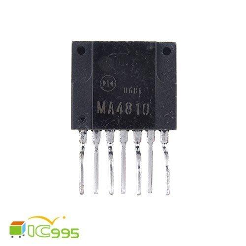缺 ic995  MA4810 SIP~7 電源開關 穩壓器 電壓控制 轉換電路 IC 芯