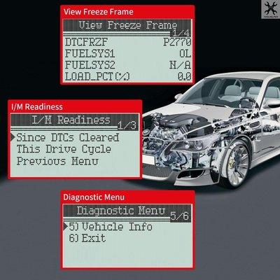 MS309多功能汽車診斷儀讀碼器MS309 OB-D2 e Reader  #第七星球#UYHYUG45465