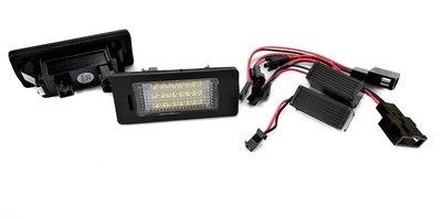 LED 車牌燈 For VW PASSAT 5D 08-10 License Plate Lamp 牌照燈