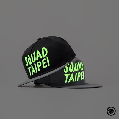(MARVELOUS) SQUAD S/S Noctilucent/Reflective Cap 夜光反光帽
