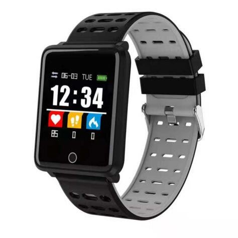 新品F21智慧手環1.44英寸心率血壓血氧監測運動防水彩屏手錶安卓/IOS資訊提醒#6805