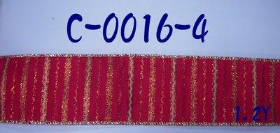 線條印刷拷克帶【C-0016-4/C-0016-20】~Janes Gift~Ribbon