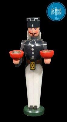 【波賽頓-歐洲古董拍賣】歐洲/西洋古董 德國早期 20世紀 彩繪木雕 胡桃鉗人偶 A款(高度:23cm)(年份:約1950-1960年)