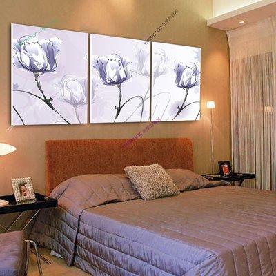 【50*50cm】【厚1.2cm】花卉-無框畫裝飾畫版畫客廳簡約家居餐廳臥室牆壁【280101_094】(1套價格)