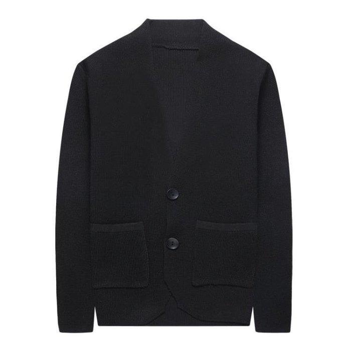 針織衫男韓版修身毛衣男大碼男裝開襟外套男針織外套 毛衣外套 長袖開衫t6595