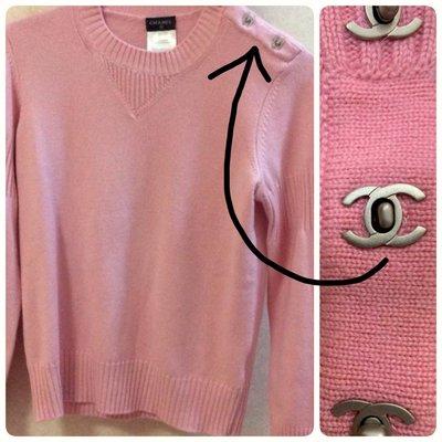 已售出 Chanel ❤️ 羊絨針織衣