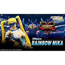 魂限 SHF  日版 RAINBOW MIKA Street Fighter 街頭霸王