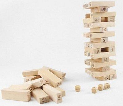 佳佳玩具 ~~~~~ 兒童益智教育 大號 木製 益智 疊疊樂 層層疊 平衡積木 桌遊 團康