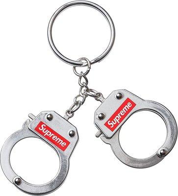 【HOMIEZ】SUPREME Handcuffs Keychain【SUP_ACC109】手銬鑰匙圈