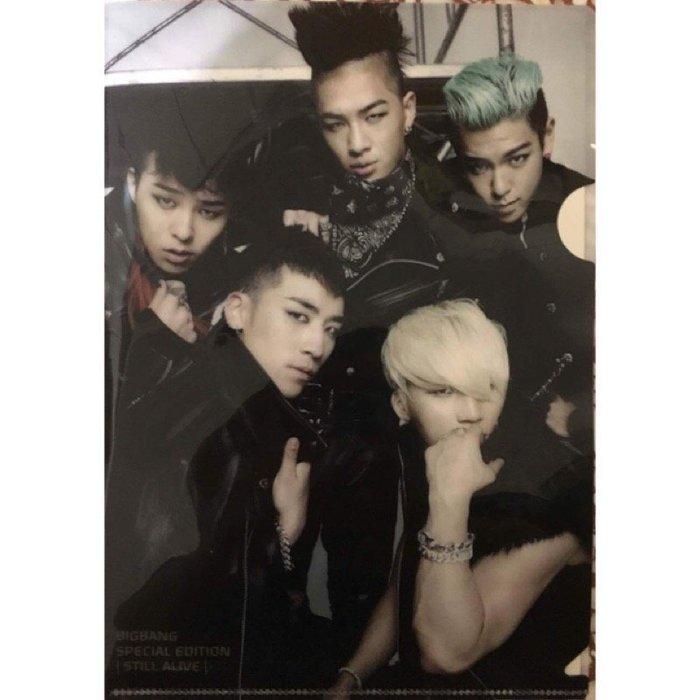 《絕版全新》BIGBANG Still Alive 預購禮 資料夾 L夾