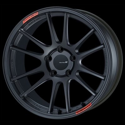 日本 Enkei 鋁圈 Racing Revolution GTC01RR 槍黑色 18吋 100 114 120 五孔