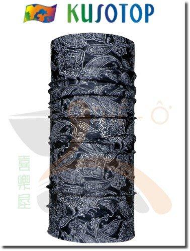 KUSOTOP 原創系列 運動魔術頭巾 吸濕快乾 抗UV 柔軟 透氣 5 台灣製造 喜樂屋戶外休閒