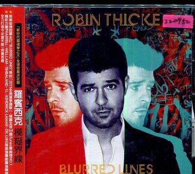 *還有唱片三館* ROBIN THICKE / BLURRED LINES二手 ZZ0950