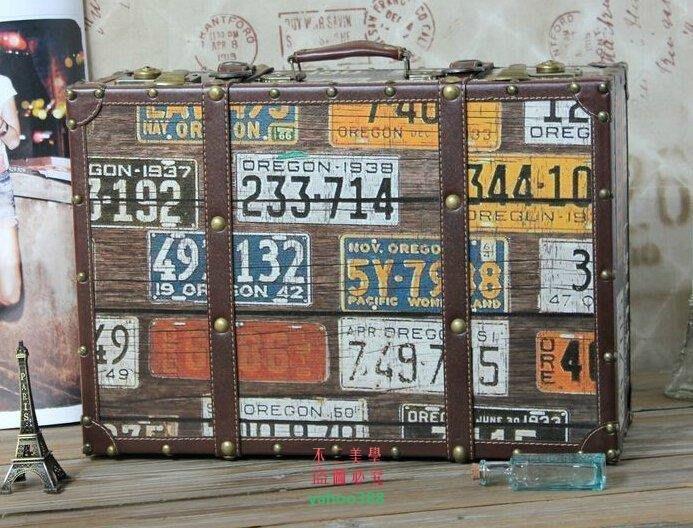 美學179數字密碼 復古手提箱 短途旅行箱 街頭包 歐美範兒箱 道具箱 復❖48114
