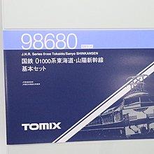 TOMIX 98680 JR0-1000 0系東海道山陽新幹線子彈火車  東京大阪九州基本SET 6車廂 日本制 1/150 N Gauge