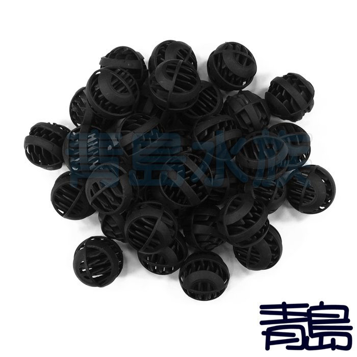 Y。。。青島水族。。。F-164-200生化培菌球 生物過濾球 培菌生化球(小)==200顆